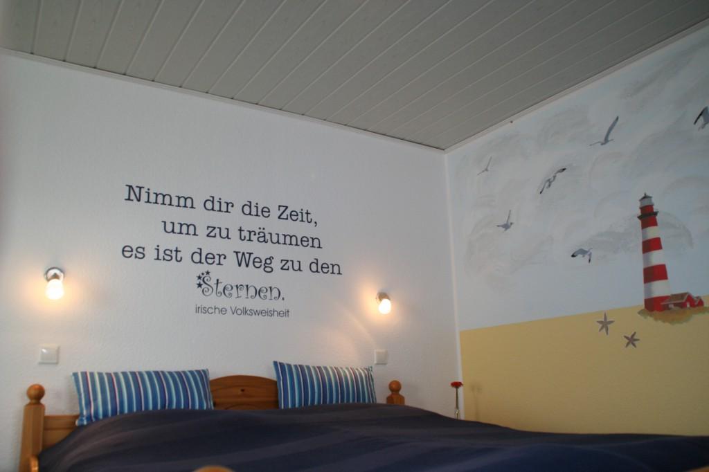 Schlafzimmer Haus Deichblick