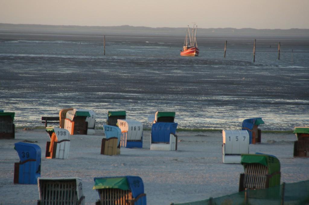 Strand und Wattenmeer ind Dornumersiel